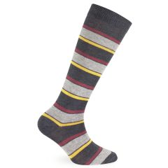 "Mita Kids - Calza lunga da bimbo in caldo cotone - Fantasia ""Warm stripes"""
